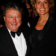 NLD/Amsterdam/20091121 - JFK Great men of the Year Gala 2009, Oger Lusink en partner Ceciel Lutke Veldhuis