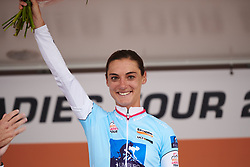 Ashleigh Moolman Pasio (RSA) leads the sprint competition at Boels Ladies Tour 2019 - Stage 1, a 123 km road race from Stramproy to Weert, Netherlands on September 4, 2019. Photo by Sean Robinson/velofocus.com