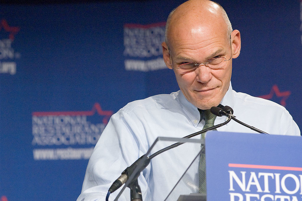 James Carville at the National Restaurant Association Public Affairs Conference, September 10, 2006.