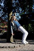 Forsanger i rockbandet D.A.D. Jesper Binzer. Fotograferet i Tivoli i København