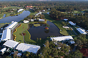 PONTE VEDRA BEACH, FL - MAY 3: Aerial views of THE PLAYERS Stadium Course at TPC Sawgrass on May 3, 2017 in Ponte Vedra Beach, Florida. (Photo by Chris Condon/PGA TOUR)<br /> <br /> Last winter I became a licensed drone pilot, and have been using them to capture aerial photos of courses that we used to rent helicopters to shoot. I love aerial views, and TPC Sawgrass is a great subject. The 16th, 17th, and 18th holes are just stunning from above.