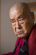 The Japanese monk Surai Sasai has devoted most of his adult life to justice for the Dalits of India.<br /> Photo by Christina Sj&ouml;gren