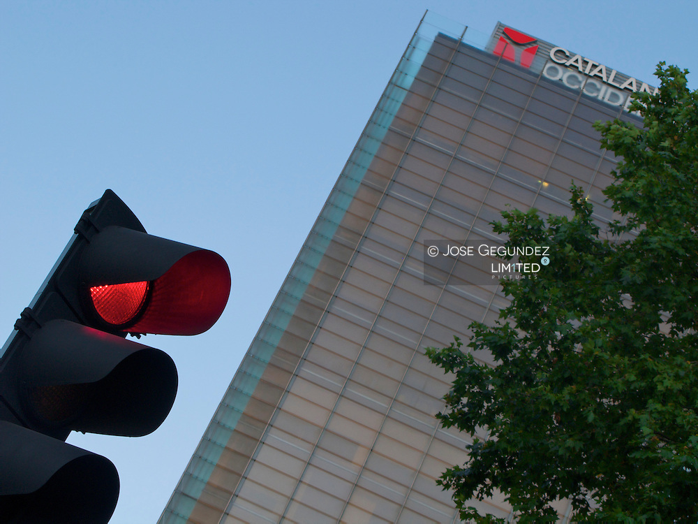 Madrid. Edificio de Catalana Occidente en el Paseo de la Castellana de Madrid.