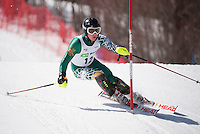 Eastern Cup Waterville Slalom 2nd run mens March 28, 2011.