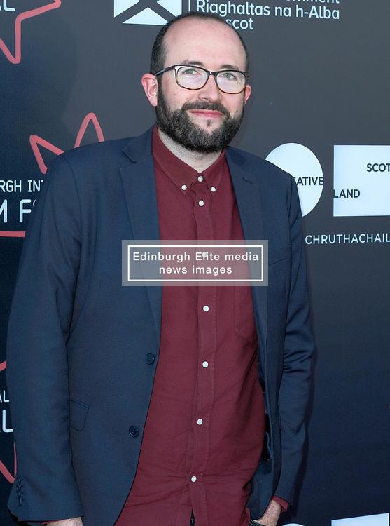 Edinburgh International Film Festival, Thursday, 21st June 2018<br /> <br /> Jury Photocall<br /> <br /> Pictured:  Alejandro Diaz Castano of the Shorts Jury<br /> <br /> (c) Alex Todd   Edinburgh Elite media