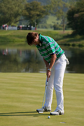 03.06.2010, Celtic Manor Resort and Golf Club, Newport, ENG, The Celtic Manor Wales Open 2010, im Bild Robert-Jan Derksen (NED) putting. EXPA Pictures © 2010, PhotoCredit: EXPA/ M. Gunn / SPORTIDA PHOTO AGENCY