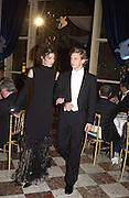 Amelie de la Bedoyere and Ludovic de Richecourt. Crillon Debutantes Ball 2002. Paris. 7 December 2002. © Copyright Photograph by Dafydd Jones 66 Stockwell Park Rd. London SW9 0DA Tel 020 7733 0108 www.dafjones.com