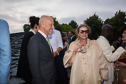 LORD FOSTER, LADY FOSTER, The Serpentine Party pcelebrating the 2019 Serpentine Pavilion created by Junya Ishigami, Presented by the Serpentine Gallery and Chanel,  25 June 2019
