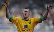 Birmingham - Saturday March 21st, 2009: Sammy Clingan of Norwich City his goal against Birmingham City during the Coca Cola Championship match at St Andrews, Birmingham. (Pic by Alex Broadway/Focus Images)