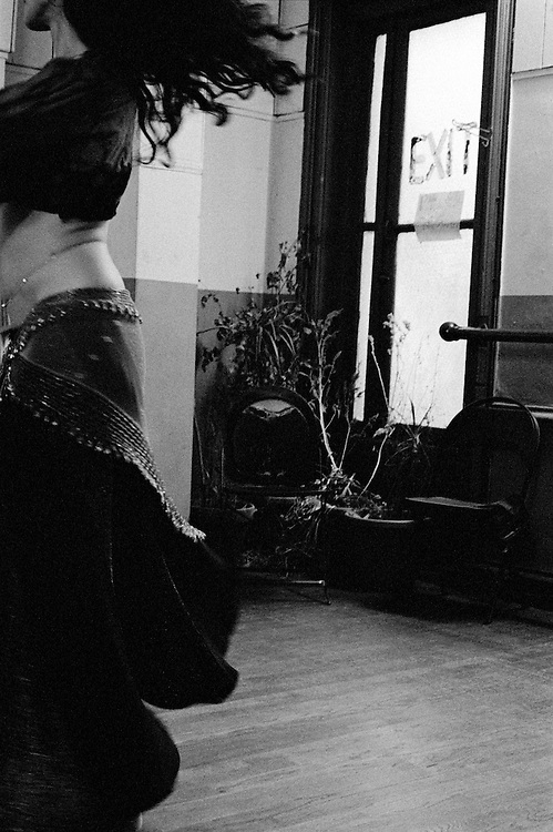 Belly dancer in New York City