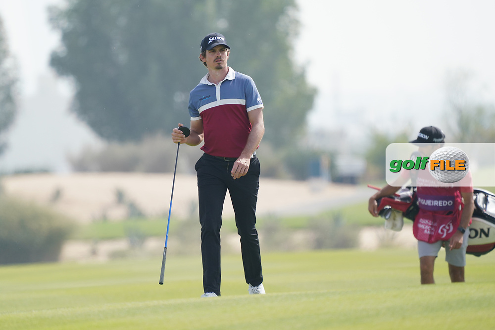 Pedro Figueiredo (POR) during the final round of the Commercial Bank Qatar Masters 2020, Education City Golf Club , Doha, Qatar. 08/03/2020<br /> Picture: Golffile   Phil Inglis<br /> <br /> <br /> All photo usage must carry mandatory copyright credit (© Golffile   Phil Inglis)