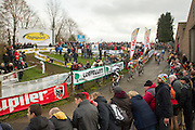 BELGIUM / BELGIQUE / BELGIE / CYCLOCROSS / VELDRIJDEN / CYCLO-CROSS / CYCLING / OVERIJSE / DRUIVENCROSS / ELITE / ILLUSTRATIE / ILLUSTRATION /