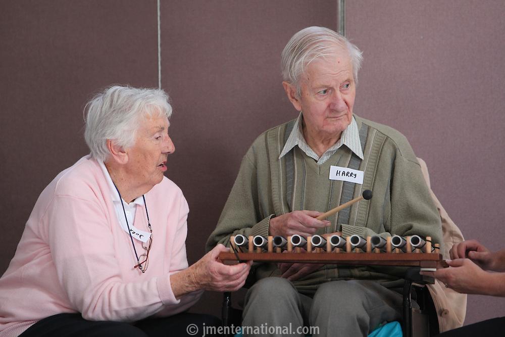 Nordoff Robbins / Dorset POPP Music Club, Ferndown. (Rachel Millman).