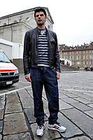 Vincenzo Iaquinta<br /> Visita dei giocatori della Juventus all Sacra Sindone a Torino<br /> Torino, 27/04/2010<br /> © Giorgio Perottino / Insidefoto