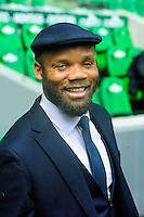 Jean Alain BOUMSONG - 26.04.2015 - Saint Etienne / Montpellier - 34eme journee de Ligue 1<br />