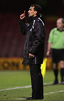 Photo: Paul Thomas.<br /> Rotherham United v Swansea City. Coca Cola League 2. 27/02/2007.<br /> <br /> Roberto Martinez, new manager of Swansea.