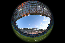 A fisheye view of the Fisht Stadium before the game