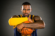 CLEVELAND, OH - SEPTEMBER 28: LeBron James #23 of the Cleveland Cavaliers during the Cleveland Cavaliers media day at Cleveland Clinic Courts on September 28, 2015 in Independence, Ohio. (Photo by Jason Miller/Getty Images)  *** Local Caption *** LeBron James