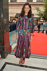 Jasmine Hemsley arriving at The opening night of Wind in The Willows at the London Palladium, Argyll Street, London England. 29 June 2017.<br /> Photo by Dominic O'Neill/SilverHub 0203 174 1069 sales@silverhubmedia.com