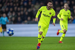 November 28, 2018 - Eindhoven, Netherlands - Lionel Messi of Barcelona in action during the UEFA Champions League Group B match between PSV Eindhoven and FC Barcelona at Philips Stadium in Eindhoven, Netherlands on November 28, 2018  (Credit Image: © Andrew Surma/NurPhoto via ZUMA Press)