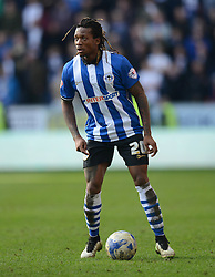 Wigan Athletic's Gaetan Bong in action - Photo mandatory by-line: Richard Martin-Roberts/JMP - Mobile: 07966 386802 - 07/03/2015 - SPORT - Football - Wigan - DW Stadium - Wigan Athletic v Leeds United - Sky Bet Championship