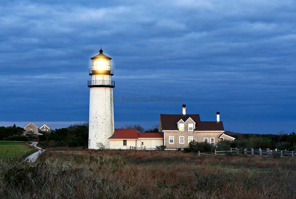 Highland lighthouse Truro Cape Cod Massachusetts, USA.