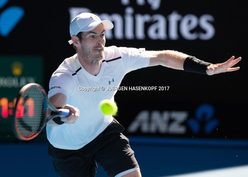 ANDY MURRAY (GBR)<br /> <br /> Australian Open 2017 -  Melbourne  Park - Melbourne - Victoria - Australia  - 22/01/2017.
