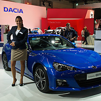Subaru BRZ at the IAA 2013, Frankfurt, Germany