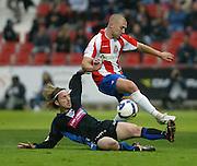 2009. May, 25th. Partido de segunda división A disputado entre el Girona F.C. como equipo local y el C.D. Alavés..COPYRIGHT: TONI VILCHES FOTOGRAFIA.
