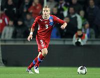 Fussball International, Nationalmannschaft   EURO 2012 Play Off, Qualifikation, Tschechische Republik - Montenegro        11.11.2011 Michal Kadlec (Tschechische Republik)