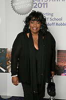 Ruby Turner at the 2011 MITs Award. Held at the Grosvenor Hotel London in aid of Nordoff Robbins and the BRIT School. Monday, Nov.7, 2011
