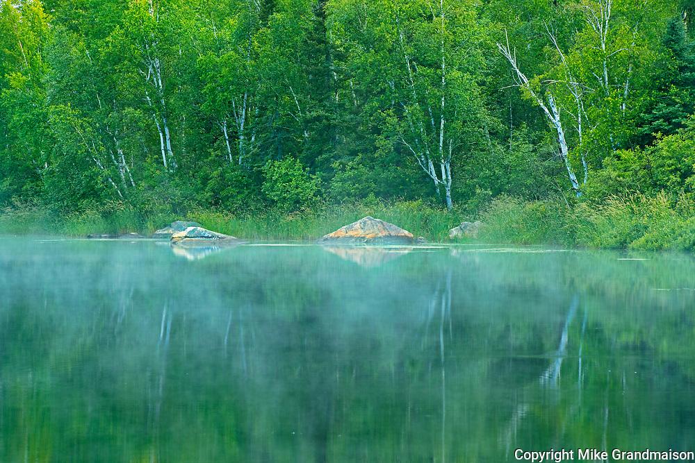 Riviere Fraser reflection<br />Latulipe<br />Quebec<br />Canada