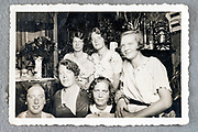 women group picture ca 1950s Netherlands