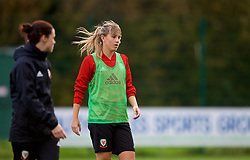 NEWPORT, WALES - Tuesday, November 6, 2018: Wales' Gemma Evans during a training session at Dragon Park ahead of two games against Portugal. (Pic by Paul Greenwood/Propaganda)
