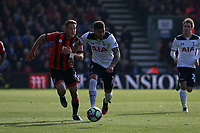 Football - 2016 / 2017 Premier League - AFC Bournemouth vs. Tottenham Hotspur<br /> <br /> Kyle Walker of Tottenham Hotspur races clear from Bournemouth's Dan Gosling at Dean Court (The Vitality Stadium) Bournemouth<br /> <br /> COLORSPORT/SHAUN BOGGUST