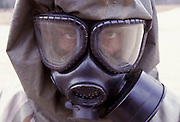 21 Feb 2003, Missouri, USA --- Live sarin and VK nerve agent training. --- Photo by Leif Skoogfors, Location: Fort Leonard Wood, Missouri, United States. --- Image by © Leif Skoogfors