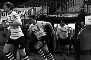 a general feature on Pontypridd RFC , in black & white. Principality premiership, Pontypridd RFC v Carmarthen Quins RFC at Sardis Road in Pontypridd on Wednesday 13th March 2013. pic by  Andrew Orchard, Andrew Orchard sports photography,