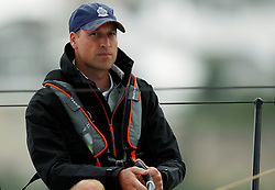 The Duke of Cambridge takes part in the King's Cup regatta at Cowes on the Isle of Wight. The royal couple are going head to head in the regatta in support of their charitable causes.