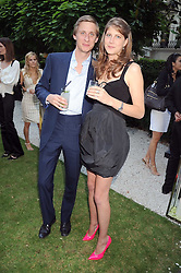 PRINCESS FLORENCE VON PREUSSEN and the HON.JAKE ASTOR at the Tatler Summer Party, The Hempel Hotel, 31-35 Craven Hill Gardens, London W2 on 25th June 2008.<br />