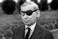 Mr T E Utley, aka Peter Utley, English, UK, High Tory, journalist, who stood unsuccessfuly as an Ulster Unionist candidate in the February 1974 UK General Election. He fought the Rev Ian Paisley for the North Antrim seat. 197402001234b<br /> <br /> Copyright Image from Victor Patterson, 54 Dorchester Park, Belfast, UK, BT9 6RJ<br /> <br /> t1: +44 28 9066 1296 (from Rep of Ireland 048 9066 1296)<br /> t2: +44 28 9002 2446 (from Rep of Ireland 048 9002 2446)<br /> m: +44 7802 353836<br /> <br /> victorpattersonbelfast@gmail.com<br /> victorpatterson@me.com<br /> <br /> www.victorpatterson.com<br /> <br /> Please see my Terms and Conditions of Use at https://www.victorpatterson.com/page2<br /> It is IMPORTANT that you familiarise yourself with them.<br /> <br /> Images used on the Internet incur an additional cost and must be visibly watermarked i.e. © Victor Patterson within the body of the image and copyright metadata must not be deleted. Images used on the Internet have a size restriction of 4kbs and are chargeable at rates available at victorpatterson.com.<br /> <br /> This image is available only for the use of the download recipient i.e. television station, newspaper, magazine, book publisher, etc, and must not be passed on to any third party. It is also downloaded on condition that each and every usage is notified within 7 days to victorpatterson@me.com<br /> <br /> The right of Victor Patterson (or the named photographer) to be identified as the author is asserted in accordance with The Copyright Designs And Patents Act (1988). All moral rights are asserted.