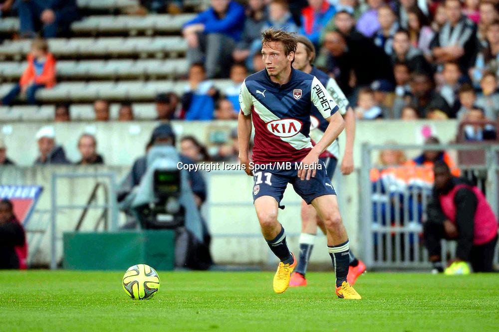 Clement CHANTOME - 25.04.2015 - Bordeaux / Metz - 34eme journee de Ligue 1<br />Photo : Caroline Blumberg / Icon Sport