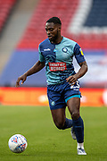 Wycombe Wanderers midfielder Fred Onyedinma (23) during the EFL Sky Bet League 1 Play Off Final match between Oxford United and Wycombe Wanderers at Wembley Stadium, London, England on 13 July 2020.