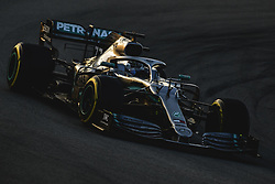 February 28, 2019 - Barcelona, Catalonia, Spain - VALTTERI BOTTAS (FIN) from team Mercedes drives in his W10 during day seven of the Formula One winter testing at Circuit de Catalunya (Credit Image: © Matthias Oesterle/ZUMA Wire)