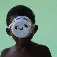 Niño del pueblo de Chuao, Edo. Aragua, Venezuela