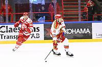 2020-02-01 | Ljungby, Sweden: Skövde IK (16) Alexander Henriksson during the game between IF Troja / Ljungby and Skövde IK at Ljungby Arena ( Photo by: Fredrik Sten | Swe Press Photo )<br /> <br /> Keywords: Ljungby, Icehockey, HockeyEttan, Ljungby Arena, IF Troja / Ljungby, Skövde IK, fsts200201, ATG HockeyEttan, Allettan