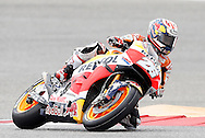 Spain's Dani Pedrosa (26) during qualifying in the 2016 Grand Prix of the Americas MotoGP race at circuit of the Americas, in Austin, Texas on April 9, 2016.