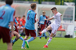 NEWPORT, WALES - Thursday, May 28, 2015: Regional Development Boys' Bailey Owen during the Welsh Football Trust Cymru Cup 2015 at Dragon Park. (Pic by David Rawcliffe/Propaganda)