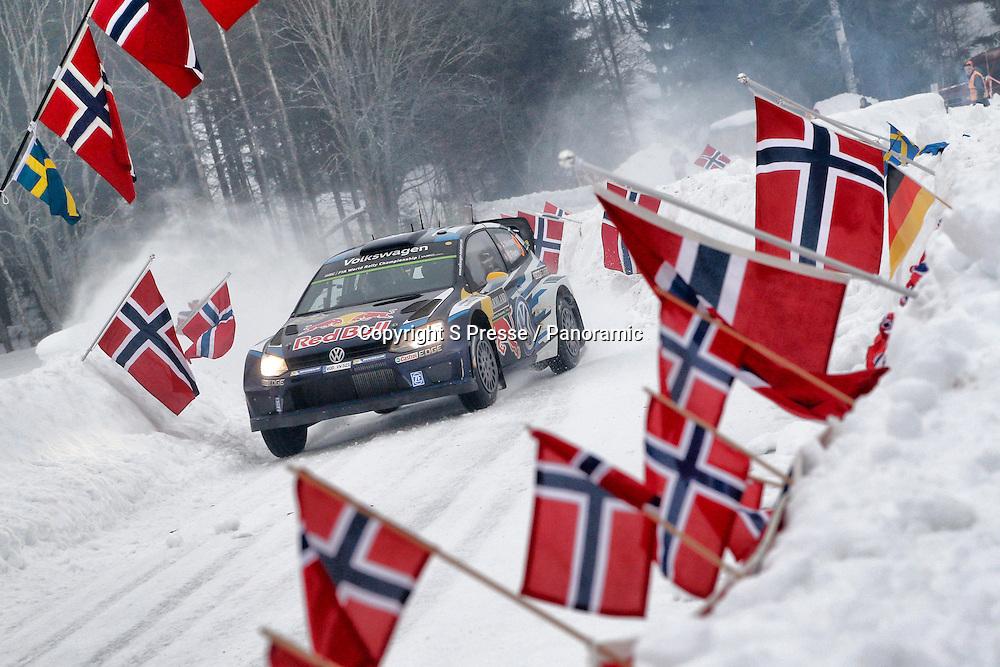 Andreas Mikkelsen (NOR) - Ola Floene (NOR) -Volkswagen Polo WRC