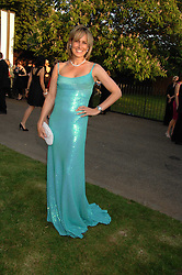 SANTA SEBAG-MONTEFIORE at the annual Serpentine Gallery Summer Party in association with Swarovski held at the gallery, Kensington Gardens, London on 11th July 2007.<br /><br />NON EXCLUSIVE - WORLD RIGHTS