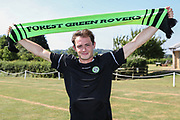 Forest Green Rovers new signing Theo Archibald during the first day back at training for Forest Green Rovers at the New Lawn, Forest Green, United Kingdom on 2 July 2018. Picture by Shane Healey.
